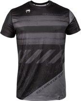 Venum AMRAP Dry-Tech T-Shirt Zwart met grijs-M