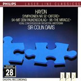 "Haydn: Symphonies Nos. 92 ""Oxford"", 94 ""Mit dem Paukenschlag"" & 96 ""The Miracle"""