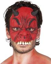 12 stuks: Masker Duivel - Latex