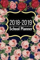 2018 - 2019 School Planner, Daily, Weekly, Monthly & Yearly Planner