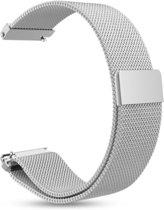 YONO Milanees Bandje Zilver geschikt voor Garmin Vivoactive 3