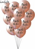 Bride To Be ballonnen | Ballonnen Set Bride To Be | Helium Ballonnen | Vrijgezellenfeest | Wedding Ballon Bruiloft