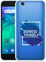 Xiaomi Redmi Go Hoesje Express Yourself