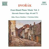 Dvorak: Four-Hand Piano Music Vol 2 / Matthies, Kohn