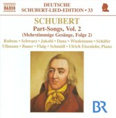 Schubert: Part-Songs Vol.2