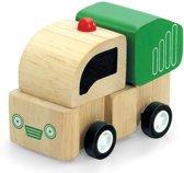 Houten speelgoedvoertuig Stortwagen