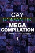 Gay Romantik MEGA Compilation - 11 eBooks in einer Ausgabe!