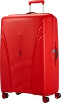 American Tourister Skytracer Spinner 82 formula red