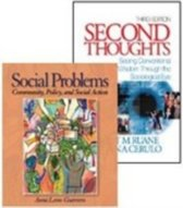 Second Thoughts by Ruane & Cerulo and Social Problems by Leon-Guerrero, Bundle