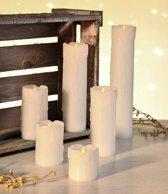 Vlamloze Led kaarsen, set van 6 stuks
