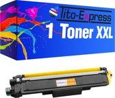 PlatinumSerie® 1 x toner XXL alternatief voor Brother TN-243 TN 247 yellow