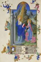 The Visitation by the Limbourg Brothers