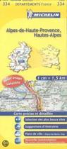 Michelin Alpes-de-Haute-Provence, Hautes-Alpes