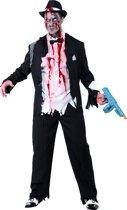 Charleston zombie gangster voor volwassenen Halloween kostuum - Verkleedkleding - Large