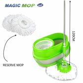 BensonClean Spin Mop - Inclusief Emmer