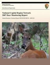 National Capital Region Network 2007 Deer Monitoring Report