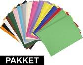 14x A4 hobby karton alle kleuren