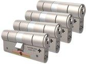 Cilinderslot - M&C Matrix SKG*** 4 cilinders met 7 sleutels