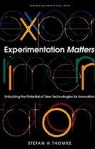 Experimentation Matters