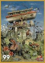 Puzzelman Puzzel - Marius van Dokkum: Ark van Noach (99 stukjes)