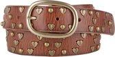Cowboysbelt Kids Riemen Kids Belt 308078 Bruin Maat:65