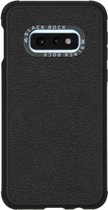 Black Rock Real Leather Backcover Samsung Galaxy S10e hoesje - Zwart