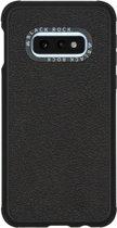 Black Rock Real Leather Backcover Samsung Galaxy S10e hoesje - Zwart
