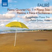 Kungsbacka Piano Trio / Philip Duke - Faure; Piano Quartet No. 1