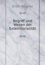 Begriff Und Wesen Der Exterritorialit t