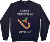 Kersttrui Sweet Christmas maat L