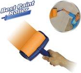 Orange Donkey Best Paint Roller Verfset - Verfroller en verfbak in 1 - Anti-drup rollers - 12 delige set