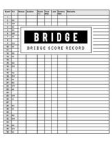 Bridge Score Record