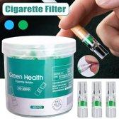 Anti teer sigaret filter - 100 stuks - Roken - Sigaretten filters - Filtertje - Peuken filter - Anti-teer - Gezondheid -  Filterventilatie - Hulzen -