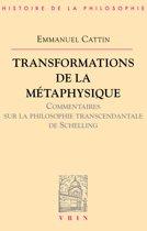 Transformations de la métaphysique