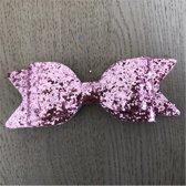 Glitter Strik XXL - Licht Roze