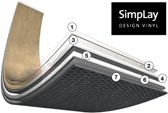 Proefstaal Expona SimpLay Design PVC