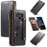 CASEME Samsung Galaxy Note 9 PU Leather Portemonnee Hoesje - Zwart