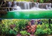 Fotobehang Waterfall Jungle Nature   XL - 208cm x 146cm   130g/m2 Vlies