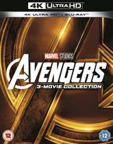 Avengers Collection 1-3 (Ultra HD 4K + blu-ray) (Import)