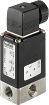 3/2 NO G1/4'' RVS 24VDC Zuurstof Magneetventiel 0330 65726 - 65726