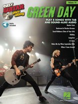 Green Day - Easy Guitar Play-Along Songbook