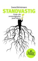 Boek cover Standvastig van Svend Brinkmann (Hardcover)