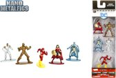 Nano Metalfigs - DC Comics 5-ER Figurenpack 1