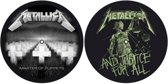 Master Of Puppets & ...And Justice For All slipmat