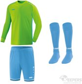 Jako Keepersset Competition 2.0 Groen/Blauw-M