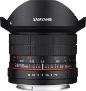 Samyang 12mm F2.8 Ed As Ncs Fisheye - Prime lens - geschikt voor Sony Systeemcamera
