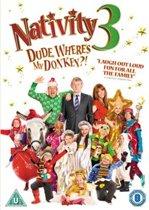 Nativity 3: Dude, Where'S My Donkey?! (dvd)