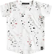 Your Wishes Unisex T-shirt Bubbles - wit - Maat 86/92