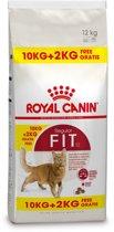 Royal Canin Fit 32 - Kattenvoer - 10 kg + 2 kg