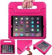 Kinder iPad 2 / 3 / 4 beschermhoes / tablethoes voor de kids met handvat roze